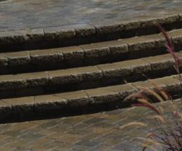 Country Cobble Walkway and Patio